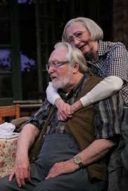 """""""On Golden Pond"""" by Ernest Thompson, at the Jungle Theater in Minneapolis through Dec. 21. Pictured: Bain Boehlke and Wendy Lehr. (Photo by Michal Daniel)"""