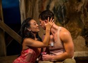 """South Pacific"" at Asolo RepertoryTheatre in Sarasota, Fla. through Dec. 28. Pictured: Autumn Ogawa and Anthony Festa. (Photo by Cliff Roles)"
