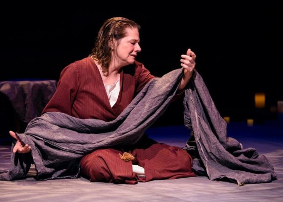 """""""The Testament of Mary"""" by Colm Toibin, at Victory Gardens Theatre in Chicago through Dec. 14. Pictured: Linda Reiter."""