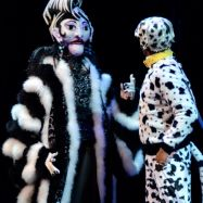 """101 Dalmatians,"" coproduced by Imagination Stage and Children's Theatre of Charlotte. (Photo by Donna Bise)"