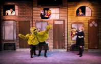 """Avenue Q"" by Jeff Whitty, Bobby Lopez and Jeff Marx, at New Conservatory Theater in San Francisco in 2014. Pictured: Clockwise from top left, Zac Schuman, Will Giammona, Sam Jackson, Stephanie Temple, Christopher Morrell and Millie DeBenedet."