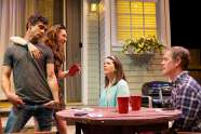 """""""Detroit"""" by Lisa D'Amour, at TheatreWorks in Colorado Springs, Colo., through Feb. 8. Todd D'Amour, Carley Cornelius, Shannon Haragan and Greg Wise."""
