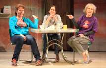 """Good People"" by David Lindsay-Abaire, at Asolo Repertory Theatre in Sarasota, Fla., through Mar. 1. Pictured: Anne-Marie Cusson, Denise Cormier and Peggy Roeder. (Photo by Frank Atura)"