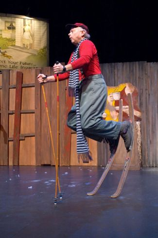 """""""Snowflake,"""" written and performed by Gale LaJoye, at Children's Theatre Company in Minneapolis through Feb. 22."""