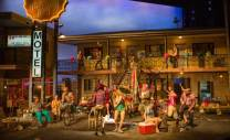 """Lisa D'Amour's """"Airline Highway"""" at Steppenwolf Theatre Company. (Photo by Michael Brosilow)"""