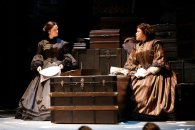 """The Widow Lincoln"" by James Still, at Fords Theatre in Washington, D.C., through Feb. 22. Pictured: Mary Bacon and Caroline Clay. (Photo by Carol Rosegg)"