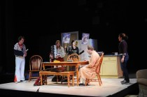 """""""End Days"""" by Deborah Zoe Laufer at Penobscot Theatre Company in Bangor, Maine, through March 29. (Photo by Magnus Stark   Penobscot Theatre Company)"""