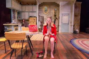 """Crimes of the Heart"" by Beth Henley, at Triad Stage in Greensboro, N.C., through Apr. 26. Pictured: Amy Bodnar. (Photo by VanderVeen Photographers)"