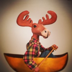 """""""Paul Bunyan and the Tall Tale Medicine Show,"""" adapted and directed by Jon Ludwig, at the Center for Puppetry Arts in Atlanta through May 24."""