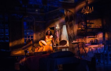 """""""A Streetcar Named Desire"""" by Tennessee Williams, at Portland Center Stage in Portland, Ore., through June 19. Pictured: Deidrie Henry. (Photo by Patrick Weishampel/blankeye.tv.)"""