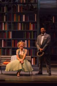 """Alabama Story"" by Kenneth Jones, at Peninsula Players in Fish Creek, Wisc., through Sept. 4. Pictured: Katherine Keberlein and Byron Glenn Willis."