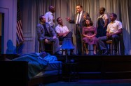 """All the Way"" by Robert Schenkkan, at TheatreSquared in Fayetteville, Ark., through Sept. 18. Pictured: Mitch Tebo and cast. (Photo by Wesley Hitt)"