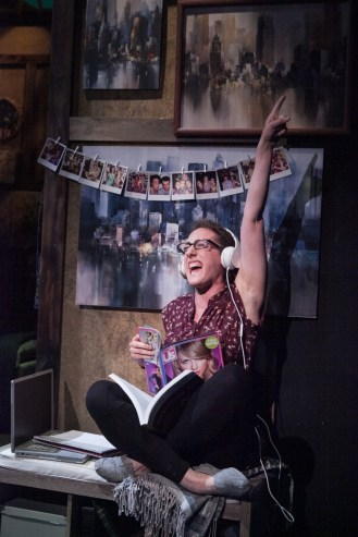 """""""Another Way Home"""" by Anna Ziegler, at Theater J in Washington, D.C., through July 17. Pictured: Shayna Blass. (Photo by C. Stanley Photography)"""