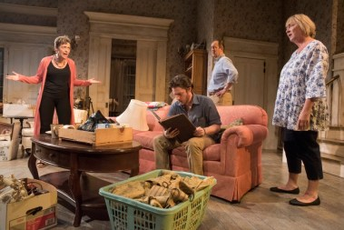 """Appropriate"" by Branden Jacobs-Jenkins, at Curious Theatre Company in Denver through Oct. 14. (Photo by Michael Ensminger)"
