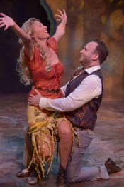 """""""As You Like It"""" by William Shakespeare, at Antaeus Theatre Company in Los Angeles, through Sept. 10. Pictured: Elyse Mirto and Adam J. Smith. (Photo by Daniel G. Lam Photography)"""
