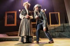 """Baskerville: A Sherlock Holmes Mystery"" by Ken Ludwig, at Cape Fear Regional Theatre in Fayetteville, N.C., through April 23."