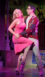 """""""Beatsville,"""" by Glenn Slater and Wendy Leigh Wilf, at Asolo Repertory Theatre in Sarasota, Fla., through May 28. Pictured: Billie Wildrick and Max Crumm. (Photo by Cliff Roles)"""