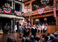 """""""Bloody Bloody Andrew Jackson,"""" by Alex Timbers and Michael Friedman, at American Shakespeare Center in Staunton, Va., through Nov. 26. (Photo by Lindsey Walters)"""