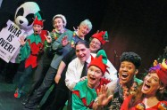 """Christmas City Follies XVI"" by the ensemble at Touchstone Theatre in Bethlehem, Pa. through Dec. 20."