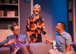 """Daniel's Husband"" by Michael McKeever, at New Conservatory Theatre Center in San Francisco, through Feb. 26. Pictured: Michael Monagle, Christine Macomber, and Daniel Redmond. (Photo by Lois Tema)"