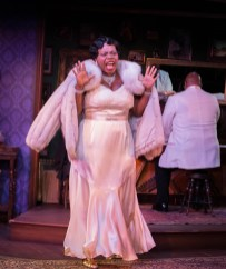 """Devil's Music: The Life and Blues of Bessie Smith"" by Joe Brancato, at Milwaukee Repertory Theater, through March 20. Pictured: Zonya Love. (Photo by Tony Duvall)"