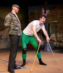 """""""Every Christmas Story Ever Told (And Then Some!)"""" by Michael Carleton, Jim FitzGerald, John K. Alvarez, and Will Knapp, at Cyrano's Theatre Company in Anchorage, Alaska through Dec. 22."""