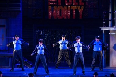 """The Full Monty"" by Terrence McNally and David Yazbek, at Penobscot Theatre Company in Bangor, Maine through July 9."