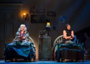 """Grey Gardens"" by Doug Wright, Scott Frankel, and Michael Korrie, at Center Theatre Group in Los Angeles, through Aug. 14. Pictured: Betty Buckley and Rachel York. (Photo by Craig Schwartz)"