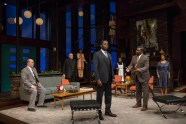 """Guess Who's Coming to Dinner"" by Todd Kreidler, at Indiana Repertory Theatre in Indianapolis, Ind., through Feb. 4. (Photo by Zach Rosing)"