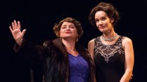 """""""Gypsy"""" by Arthur Laurents, Jule Styne, and Stephen Sondheim, at Virginia Repertory Theatre in Richmond, Va., through Jan. 10. Pictured: Robyn O'Neill and Christie Jackson. (Photo by Aaron Sutten)"""