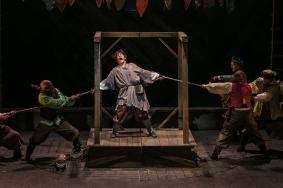 """""""The Hunchback of Notre Dame,"""" by Alan Menken, Stephen Schwartz, and Peter Parnell, at Theatrical Outfit in Atlanta, Ga., through Sept. 17."""