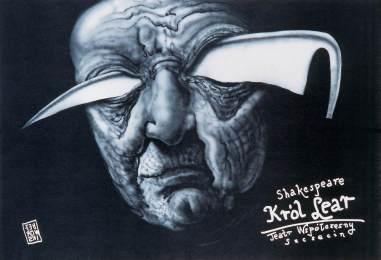 """""""King Lear"""" at Teatr Wspolczesny Szczecin in Poland in 1997."""