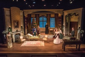 """""""Miss Bennet: Christmas at Pemberley,"""" by Lauren Gunderson and Margot Melcon, at Boulder Ensemble Theatre Company in Boulder, Colo., through Dec. 24."""