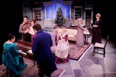 """Miss Bennet: Christmas at Pemberley,"" by Lauren Gunderson and Margot Melcon, at Main Street Theater in Houston through Dec. 23."