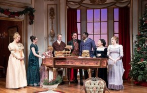 """Miss Bennet: Christmas at Pemberley,"" by Lauren Gunderson and Margot Melcon, at Theatresquared in Fayetteville, Ark., through Dec. 30."