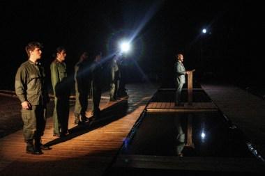 """Miss Saigon,"" by Claude-Michel Schönberg, Alain Boublil, and Richard Maltby, Jr., at Serenbe Playhouse in Chattahoochee Hills, Ga., through Aug. 14. (Photo by BreeAnne Clowdus)"