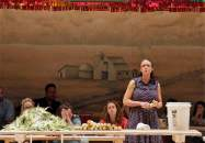 """Amber Gray in """"Oklahoma!"""" at Fisher Center for the Performing Arts at Bard College. (Photo by Cory Weaver)"""