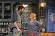 """Outside Mullingar"" by John Patrick Shanley, at Everyman Theatre in Baltimore through Jan. 10. Pictured: Tim Getman and Beth Hylton. (Photo by Stan Barouh)"