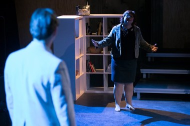 """""""Spinning Into Butter"""" by Rebecca Gilman, at Bag&Baggage Productions in Hillsboro, Ore., through Sept. 24. (Photo by Casey Campbell Photography)"""