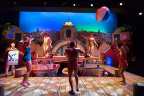 """""""The Comedy of Errors"""" by William Shakespeare, at Hartford Stage in Hartford, Conn., through Feb. 12. (Photo by T Charles Erickson)"""