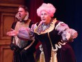 """""""The Three Musketeers (The Later Years): A Musical Panto"""" by Kathryn Petersen and Michael Ogborn, at People's Light in Malvern, Pa. Pictured: Dito Van Reigersberg and Mark Lazar. (Photo by Mark Garvin)"""