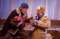 """The Winter's Tale"" by Shakespeare, at the Gamm Theatre in Pawtuckett, R.I., through May 29. Pictured: Mark S. Cartier and Marc Dante Mancin."