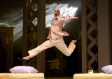 """Shakespeare's """"Twelfth Night"""" at PlayMakers Repertory Theatre in Chapel Hill, N.C., in 2017. Pictured: Geoffrey Culbertson. (Photo by Jon Gardiner)"""