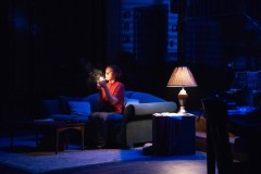 """Wait Until Dark,"" adapted by Jeffrey Hatcher from Frederick Knott, at Penobscot Theatre Company in Bangor, Maine, through Nov. 4. Pictured: Liz Mills."