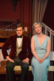 """""""You Can't Take It With You"""" by Moss Hart, at Parkway Playhouse in Burnsville, N.C., through Sept. 10. Pictured: Nathaniel Couper and Whitney Bates."""