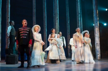 """""""A Little Night Music"""" by Stephen Sondheim and Hugh Wheeler, at Huntington Theatre Company in Boston through Oct. 11. (Photo by T. Charles Erickson)"""