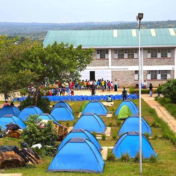 The Sauti Kuu Foundation campus. (Photo by Kila Packett)