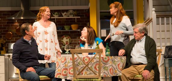 """Choice"" by Carolyn Clay, at Huntington Theatre Company in Boston, through Nov. 15. (Photo by T. Charles Erikson)"