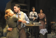 """Dancing at Lughnasa"" by Brian Friel at Palm Beach Dramaworks in 2013. Pictured: Gretchen Porro, Cliff Burgess, Julie Rowe and Meghan Moroney. (Photo by Alicia Donelan)"