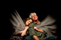 """""""Everybody's Talkin',"""" conceived by Steve Gunderson and Javier Velasco, at the San Diego REPertory through June 21. Pictured: Alice Ripley and Gregory Jbara."""